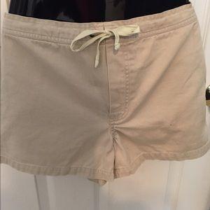 Xhilaration Khaki drawstring shorts Junior's Sz 7
