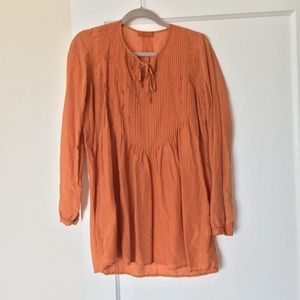 Free People CP Shades Pleated Tunic