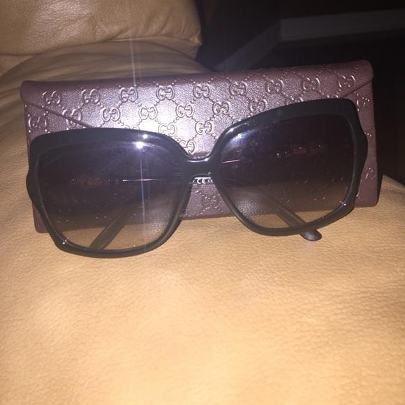 a8c8124e1c7 Gucci Accessories - Gucci Bamboo Sunglasses