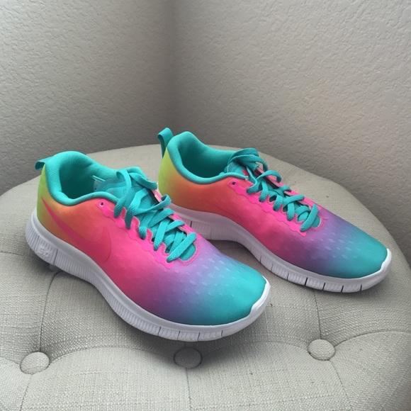 2980505d4b60 New Rainbow Nike Free 5.0 sneakers. M 574f7678c28456b68c00f3e4