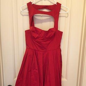 Red BB Dakota dress new never worn