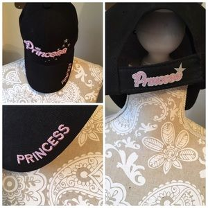 Black princess ball cap