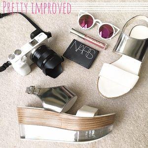AGL Shoes - ✨HP!✨•NWB• AGL Lucida Slingback Wedge Sandal