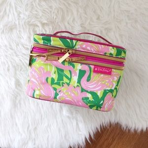 Lilly Pulitzer for Target Fan Dance Flamingo Tote