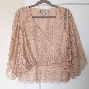 Beyond Vintage Lace Top