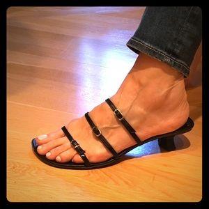 Barneys New York CO-OP Shoes - Barneys New York black strappy sandal