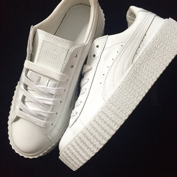 the best attitude 58ab0 2eaaf Fenty x puma. Puma Creeper all white NWT