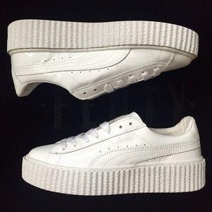 b4bb018b576a Puma Shoes - Fenty x puma. Puma Creeper all white