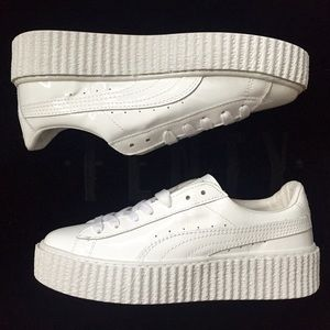 3bc76e47bd0 Puma Shoes - Fenty x puma. Puma Creeper all white