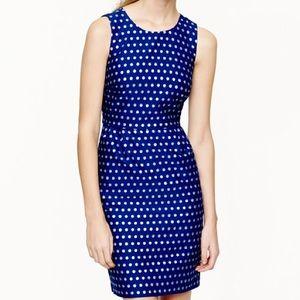 Jcrew polka dot shift dress