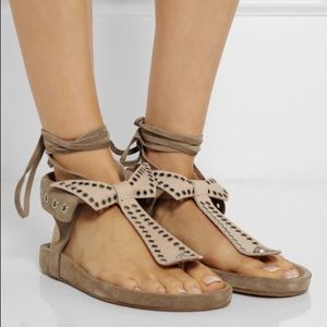 Isabel Marant Edris Lace Sandals