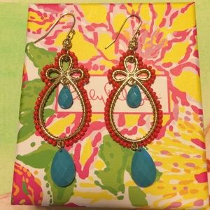 Lilly Pulitzer BOHO EARRINGS !!
