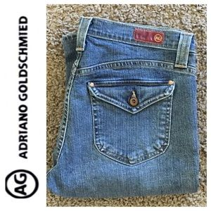 AG Adriano Goldschmied The Loyal flare jean size30