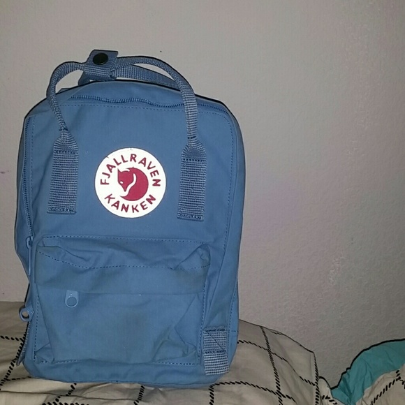 2ca8deb392482 Fjallraven Kanken Handbags - Kanken Mini Backpack (sky blue)