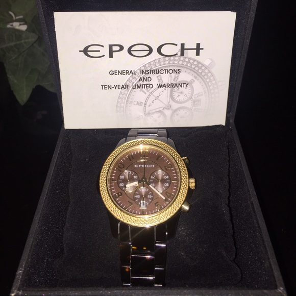 6bc5fde466e6 Women s Epoch watch Black and Gold