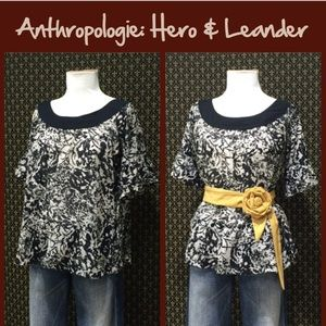 "Anthro ""Newstand Tee"" by Hero & Leander"