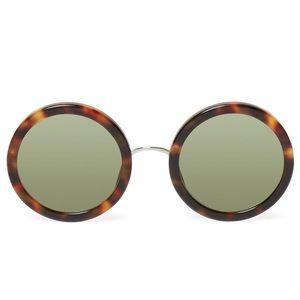 The Row Accessories - NEW! Linda Farrow x The Row Sunglasses (Tort)