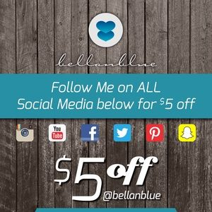💠💠FOLLOW ME @BellanBlue to get $5 OFF💠💠