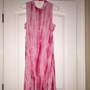NWT pink tie dye dress!