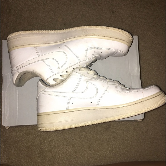 Nike Shoes | Coke White Air Force
