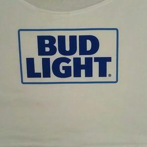 2587fa5be301d1 American Apparel Tops - American Apparel Bud Light Crop Top