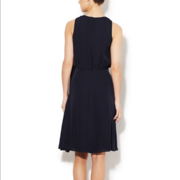 L agence long black dress neiman