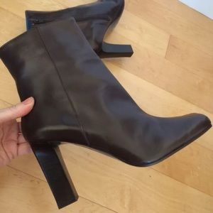 "Via Spiga Shoes - NEW$339 VIA SPIGA MADE IN ITALY LEATHER4""BOOTS!8.5"