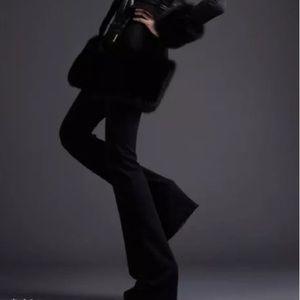 Tahari Pants - NWT$298 TAHARI RARE MICROFIBER BLACK DRESS PANTS!8