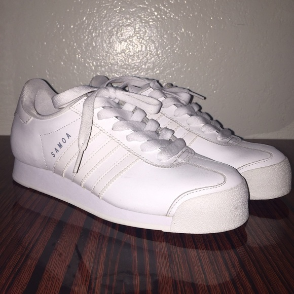 adidas Shoes | All White Adidas Samoa