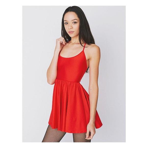 American Apparel Dresses   Skirts - American Apparel Nylon Tricot Figure  Skater Dress 28a3859ac