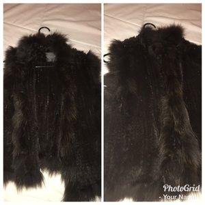 Jackets & Blazers - Knitted mink vest