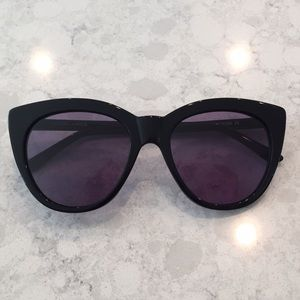 81e0a8bdf5 Kendall   Kylie Accessories - Kendall + Kylie Black Cat Eye Sunglasses  BRAND NEW