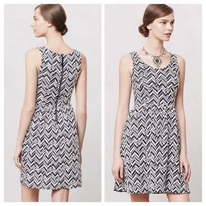 Anthropologie Textured Caldera Dress