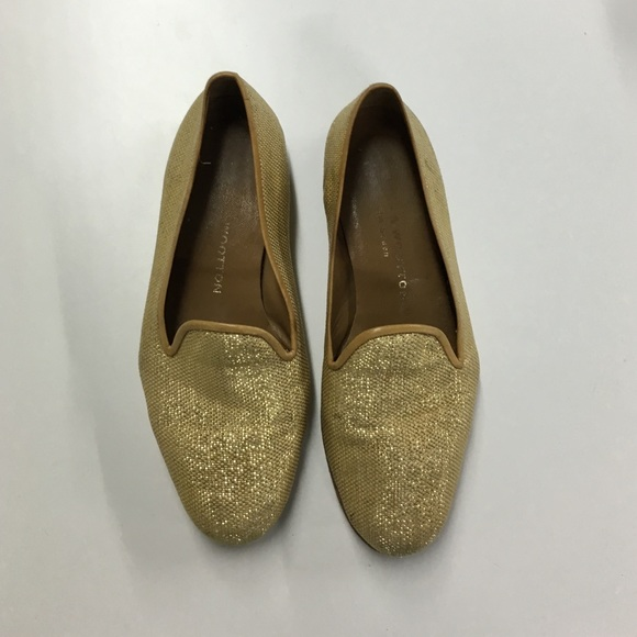 2455952a0 Stubbs & Wootton Shoes | Sale Stubbs Wootton Gold Loafers Slip Ons ...