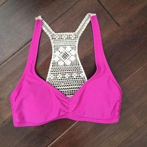 07f47feb05 American Eagle Outfitters Swim - AE pink bikini bundle