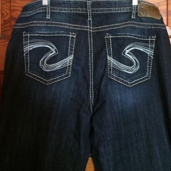 silver jeans size 18 - Jean Yu Beauty