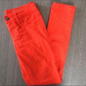 Sold Design Lab orange skinny jean sz XS(2)