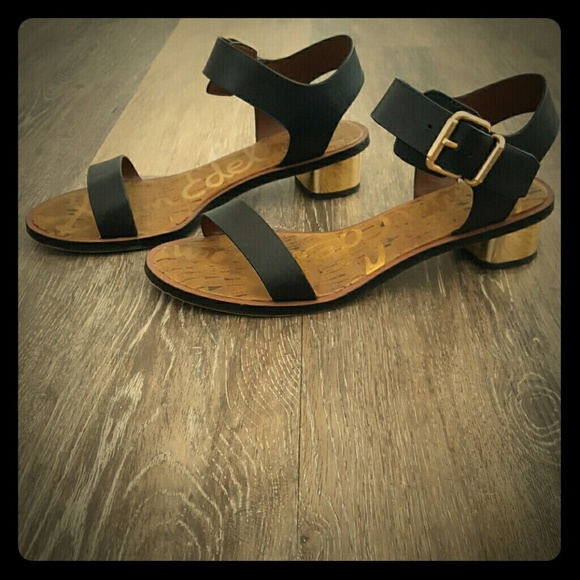 5f1cc7f20 Sam Edelman Trina Block Heeled Sandals. M 575058f6f739bcb522004324