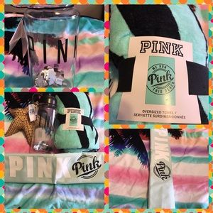 PINK Victoria's Secret Accessories - BNWT Pink Victoria's Secret Beach Bundle