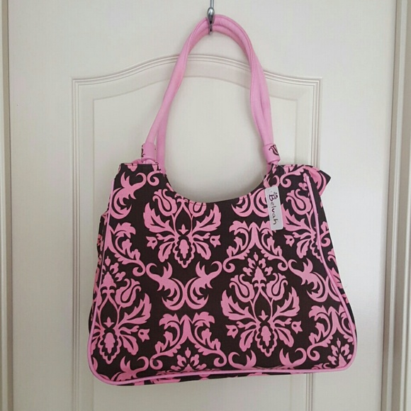8b9075ca7c Belvah Tote Bag and small Pouch NWT
