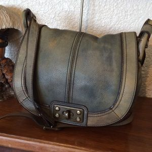 FOSSIL Vintage Revival Flap Crossbody with Lock