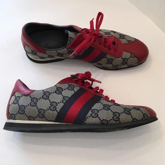 27b2ab056 Gucci Shoes - ❤ 💯 Authentic women s Gucci logo sneaker!💙