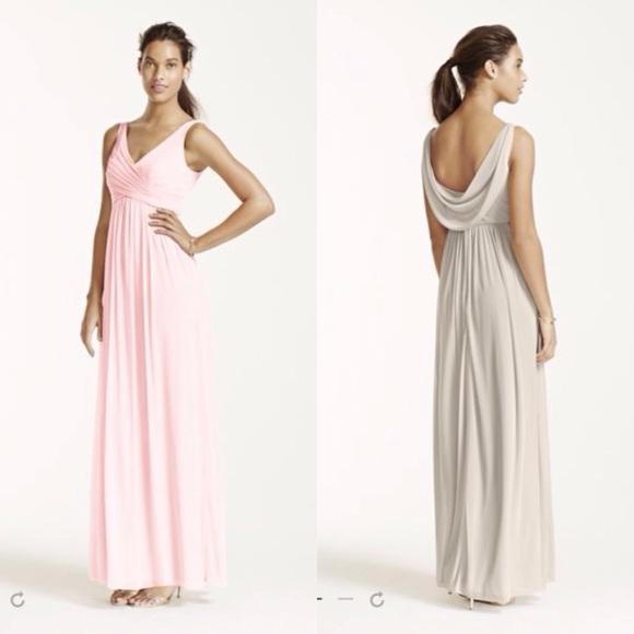 David\'s Bridal Dresses | Davids Bridal Bridesmaid Dress Petal | Poshmark