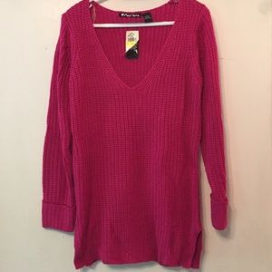 Planet Gold Sweaters - NWT Chunky Pink Sweater