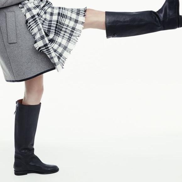 b1607a0e36a Madewell Shoes   Black Leather Tall Boots   Poshmark