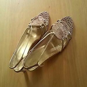 Emanuel Ungaro Shoes - Emanuel Ungaro beige sandals