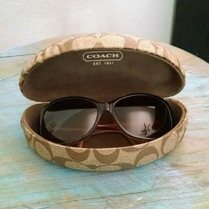 Coach Sunglasses Tortoise