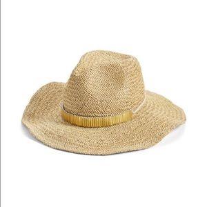 BCBG Western Panama Hat
