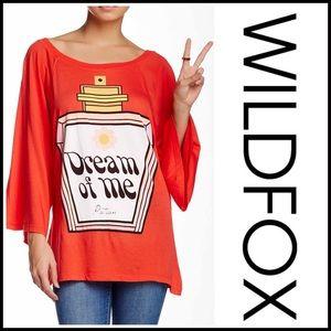 Wildfox Tops - ❗1-HOUR SALE❗WILDFOX Tunic Dream Potion Raglan Tee