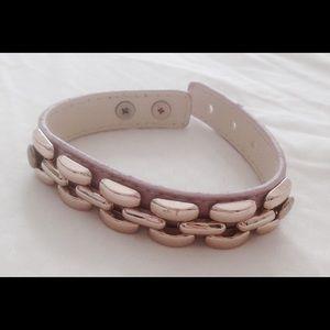 Jewelmint Jewelry - Jewelmint Pink Gold Fashion Jewelry Wrap Bracelet